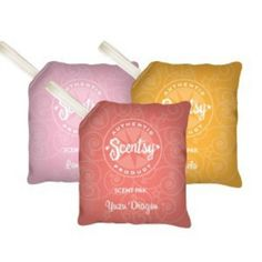 Scent paks great for the car, closets,