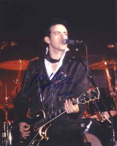 Mick Jones Signed 8x10 Photo Certified Authentic GA