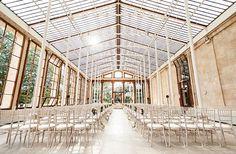 INSPIRATIONAL: Loving the light filtering into this chapel with leafy greens outside. I believe it's in Kew Gardens UK. #chapel #wedding #ido #marriageequality #loveislove #chapelwedding #weddinginspo #gayweddinginspiration