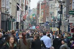 Visit Grafton Street for the most stylish shopping