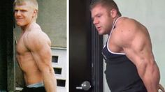 Justin Compton's 5 year transformation: 2008 vs. 2013