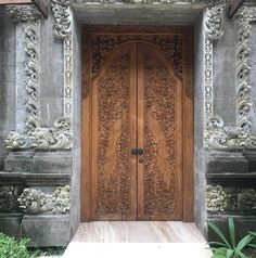 """95 Likes, 3 Comments - Studio Kamini (@studiokamini) on Instagram: """"Gorgeous Balinese architectural details ... all hand carved. Inspiring!"""""""