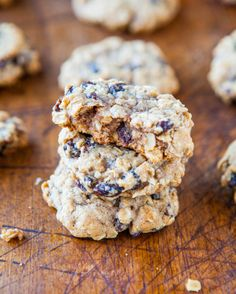Loaded Oatmeal Chocolate Chip Cookies - Averie Cooks