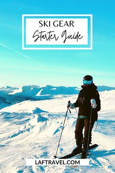 Your complete guide to ski gear - what to wear skiing and snowboarding on the slopes and in the mountains. Learn how to pick the best material for base layers, insulation, and shell to protect you from the elements. What helmet I recommend and what ski goggles I use in different conditions. #skiingandsnowboarding #wintertravel #skiresort #coloradotravel #skigear Paris Travel Tips, Solo Travel Tips, Japan Travel Tips, Usa Travel Guide, Asia Travel, Travel Usa, Travel Guides, Snowboarding, Skiing
