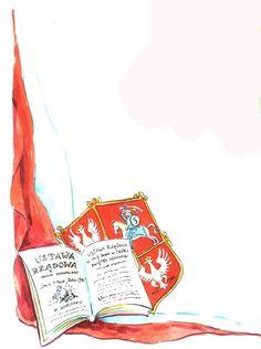 Znalezione obrazy dla zapytania konstytucja 3 maja plakat 3 Mai, Algebra, Poland, Playing Cards, Education, School, Illustration, Kids, Historia