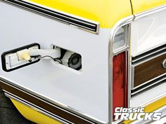 This is the coolest fuel filler neck relocation I've ever seen!