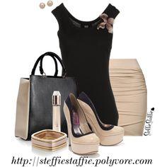 Summer Chic Work Wear by steffiestaffie on Polyvore