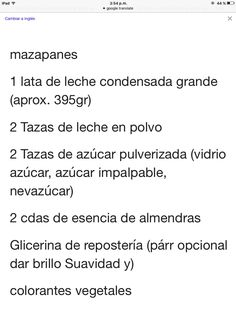 Mazapanes