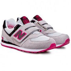 Sneakersy NEW BALANCE - Lifestyle KG574PSY  Šedá