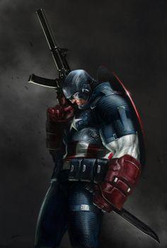 Captain America by Alexander Lozano