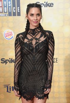 """Olivia Munn attends Spike TV's """"Guys Choice 2016"""" at Sony Pictures Studios on June 4, 2016 in Culver City, California."""