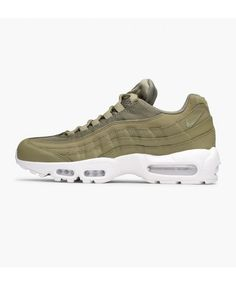 finest selection 5df38 54fa2 Nike Air Max 95 Essential Trooper Summit White Shoe Air Max 95, Cheap Nike  Air