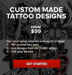 Custom tattoo maker