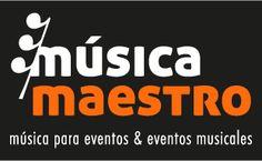 Logo y slogan Música Maestro. Lucía López Garci-Crespo/ José Antonio Ruiz