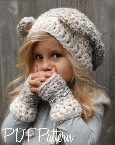 a2122b4124b crochet PATTERN-The Burkleigh Bear Set (Toddler