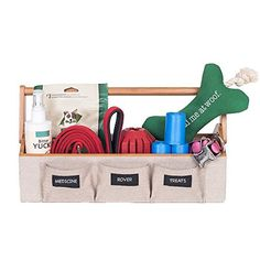 GUS Portable Pet Organizer For Pet Supplies Leashes Treats Medicine and Dog Walker Station  1575 Wide -- You can find more details by visiting the image link.