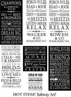 Vinyl Lettering by Susie