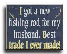 Pub Signs and Personalized Signs from The Perfect Sign Funny Fishing Memes, Fishing Humor, Fishing Signs, Fishing Rod, Ice Fishing, Fishing Backpack, Hunting Humor, Pub Signs, Vintage Fishing