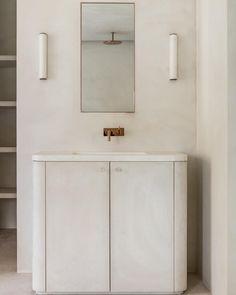 Le béton ciré assure élégance et intemporalité aux salles de bains qui osent ladopter