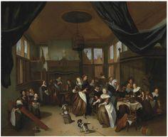 """Открытки с репродукциями: Голландский художник """"золотого века"""" Ричард Бракенбург (1650-1702 )."""