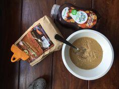 "Hummus a domácí ""nutela"" – Little Food Talks Tahini, Hummus, Cocoa, Cereal, Ice Cream, Breakfast, Desserts, No Churn Ice Cream, Morning Coffee"