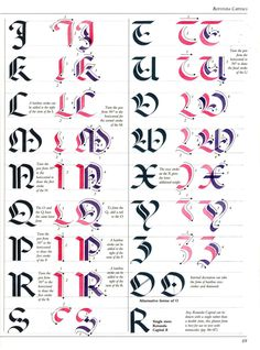 The Art of Calligraphy | Rotunda Capitals | 89