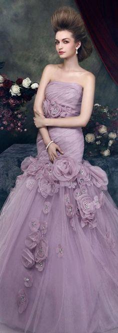 Gorgeous Wedding Dress...interesting color for wedding dress