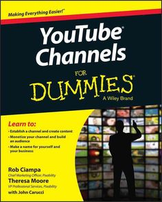 Create content and build a YouTube channel like a pro Written by a successful YouTube channel producer, YouTube Channels For Dummies shows you how to create content, establish a channel, build an audi