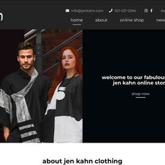 Customised e-commerce website design and development for Jen Kahn clothing, based in Cape Town. You can buy your favourite classic South African designer fashion for woman and men online with ease. Perfect time to spoil yourself or your significant other …'tis the season! #design #web #webdesign #websitedesign #webdevelopment #coder #branding #graphicdesign #wordpress #woocommerce #knowndesignco #logodesign #fashion #logo #designer #brand