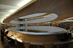 Santiago Calatrava - University of Zurich Law Library by isaiahk, via Flickr