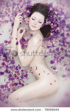 bathtub flower photoshoot - Google Search