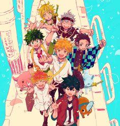 Pin on Anime Otaku Anime, Anime Boys, Manga Anime, Anime Art, Anime Crossover, Anime Kawaii, Demon Manga, All Anime Characters, Animé Fan Art