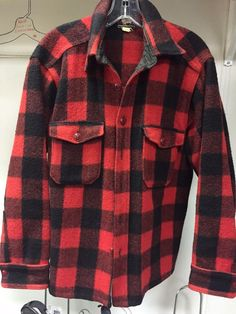 Vintage Woolrich Buffalo Plaid Jacket