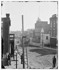 View on Marietta Street, Atlanta, Georgia, 1864