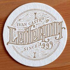 Ivan Castro: caligrafía, lettering y tipografía
