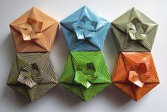 Caixas de Presente de Origami: Origami Brasil ******* itt van egy jó doboz ***