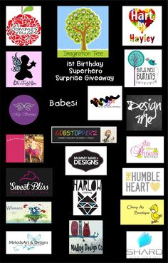Imagination Tree, Happy 1st Birthdays, Boutique Design, Christmas Stuff, 1st Birthday Parties, Giveaways, Cool Kids, Cool Photos, Competition