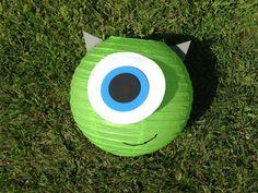 Mike Wazowski Inspired Green Monster Paper Lantern Decoration