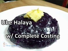 Yield: 5 pcs 3/4 cup small size llanera  Ingredients  600g Purple Yam (ube)  140 ml Evaporated Milk  1 1/2 cup (1 large) Coconut Milk  1...