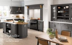 Bold and Beautiful Kitchen Designs for your Modern Living  Kitchens have always included fresh, light colours but this has recently changed where darker shades and bold colours are mixed with with natural tones and textures.