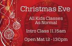 Tomorrow - Christmas Eve we have all the usual Kids and Intro Classes and an Open Mat from 12 - 1.30pm. All clubs belt levels welcome - come drill roll and be merry! Christmas Music guaranteed. Hope to see you there! #BJJ #BJJinManchester #FactoryBJJ
