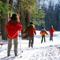Cross Country Skiing in Dawson Creek, British Columbia, Canada.  Photo: Tourism BC, via Flickr
