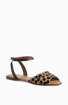 Seychelles 'Brand New' Ankle Strap Calf Hair Sandal available at #Nordstrom