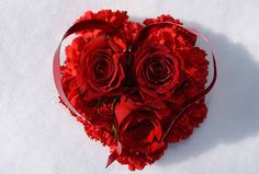 Mini Heart and Lace Floral Valentine