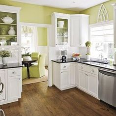 Photos of Kitchen Color Schemes With White Cabinets