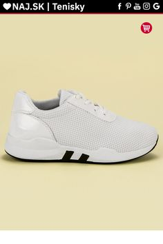 Biele módne tenisky CnB Sneakers, Shoes, Fashion, Tennis, Moda, Slippers, Zapatos, Shoes Outlet, Fashion Styles