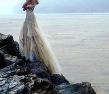 Inspiring picture, alone, alone bride, beach, beautiful, beauty, cliff