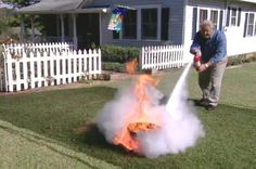 How to Use a Fire Extinguisher Properly • Ron Hazelton Online • DIY Ideas & Projects