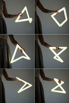 Lucida light - Corian and LED light Ushki Design Studio