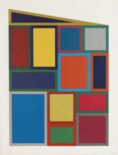 Color Rectangles | Sol LeWitt, Color Rectangles (1995)
